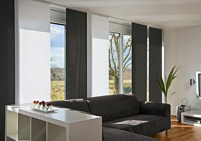 schiebepaneele stuttgart raumausstattung bischoff gmbh. Black Bedroom Furniture Sets. Home Design Ideas